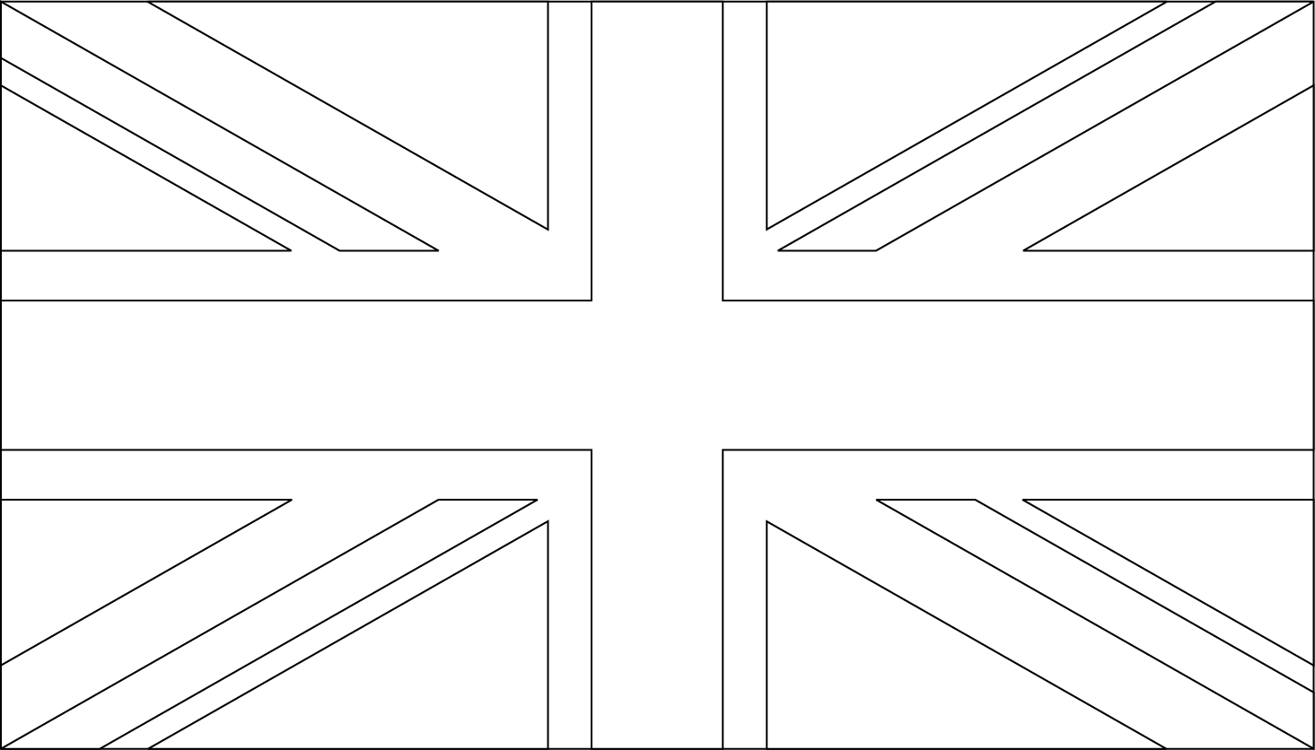 Free Printable Union Jack Flag To Colour