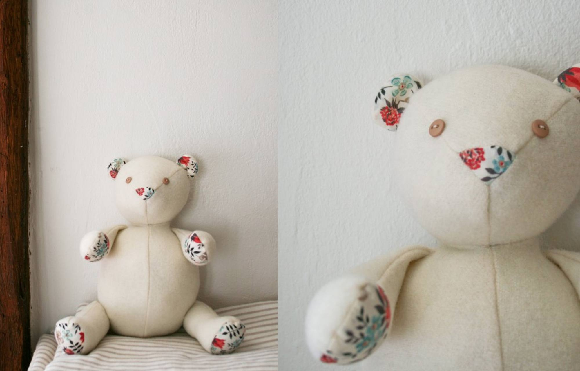 Memory Bear Sewing Pattern Free Printable