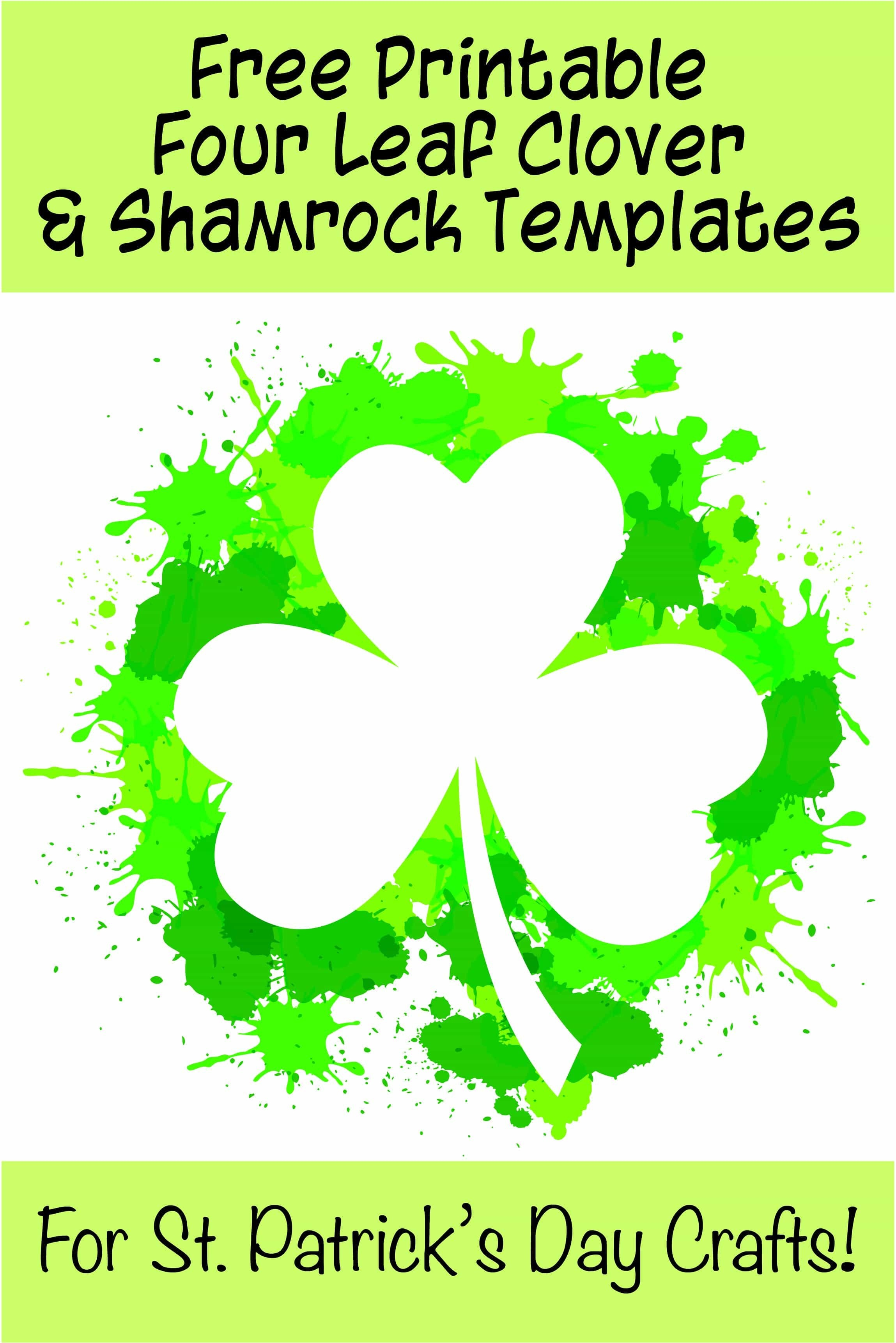 Shamrock For St Patrick S Day Coloring Page