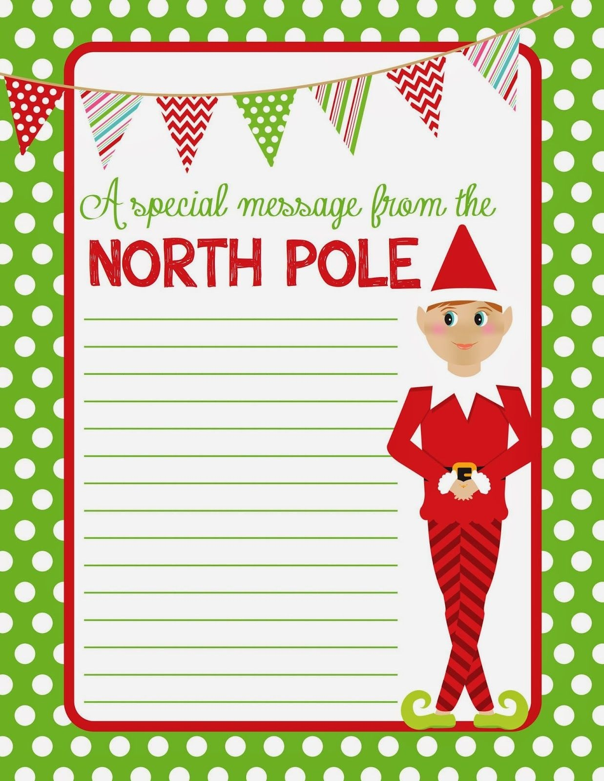 Super Cute Free Downloadable Elf On The Shelf Note