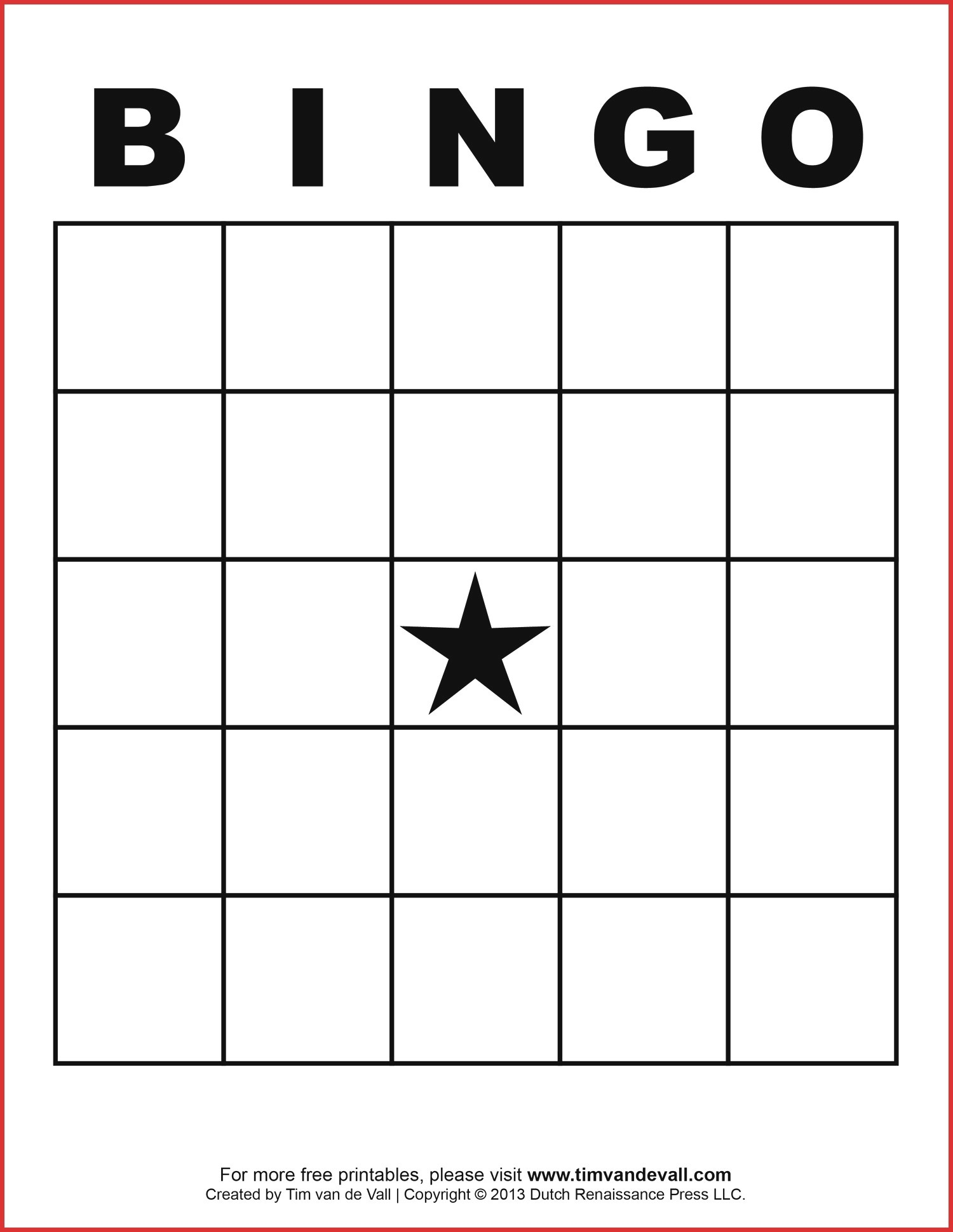 Bingo Generator Free Printable