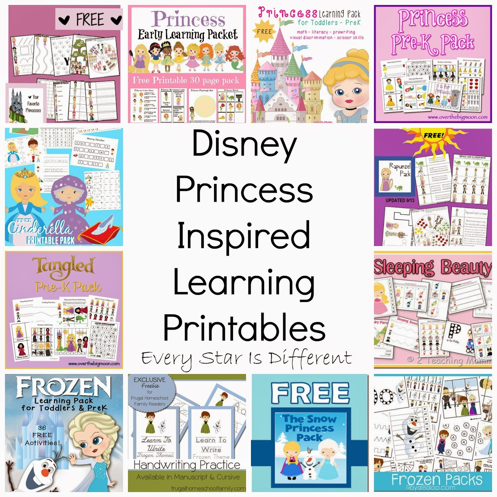 Free Disney Activity Printables