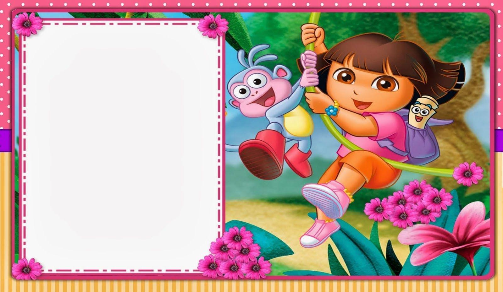 Free Dora Party Printables