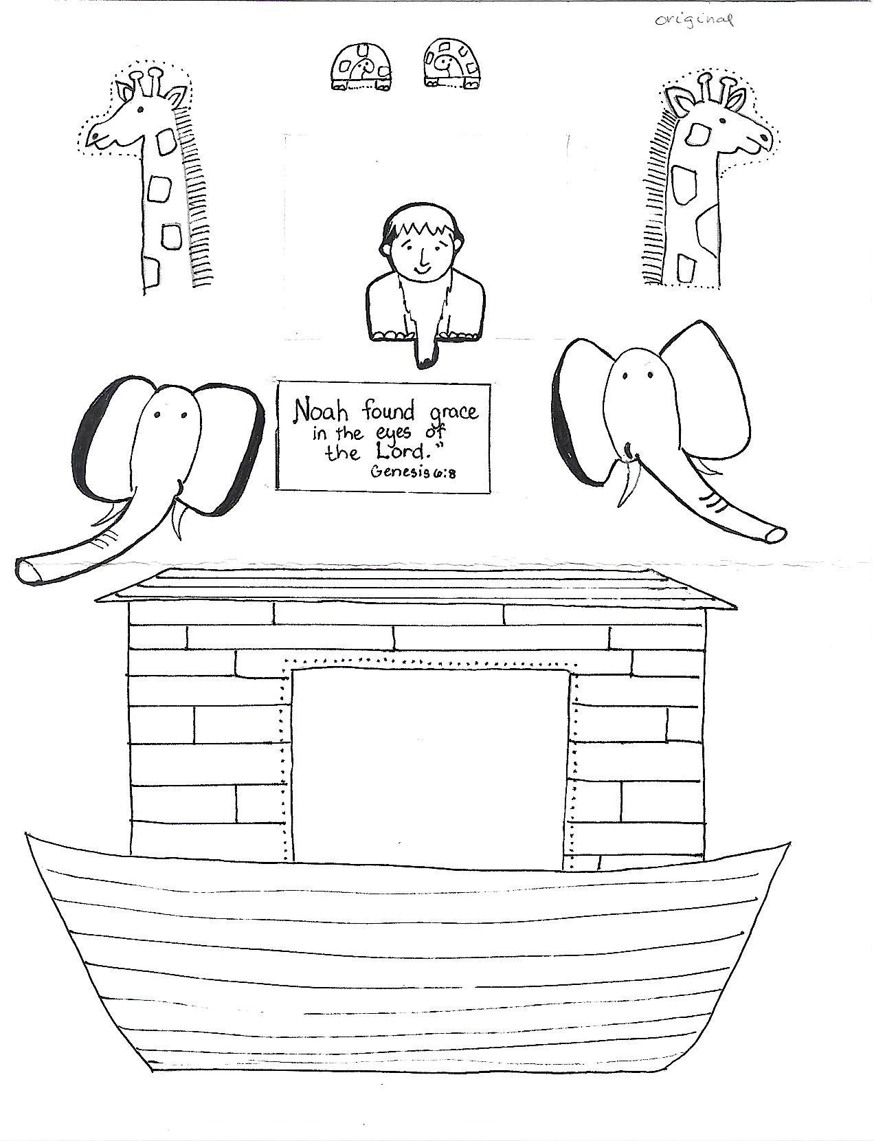 Free Noah S Ark Printables