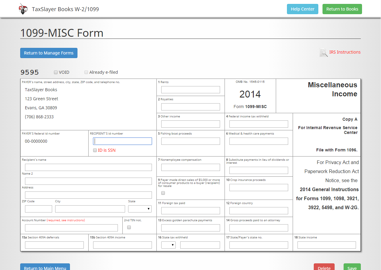 Free W2 Forms Online Printable
