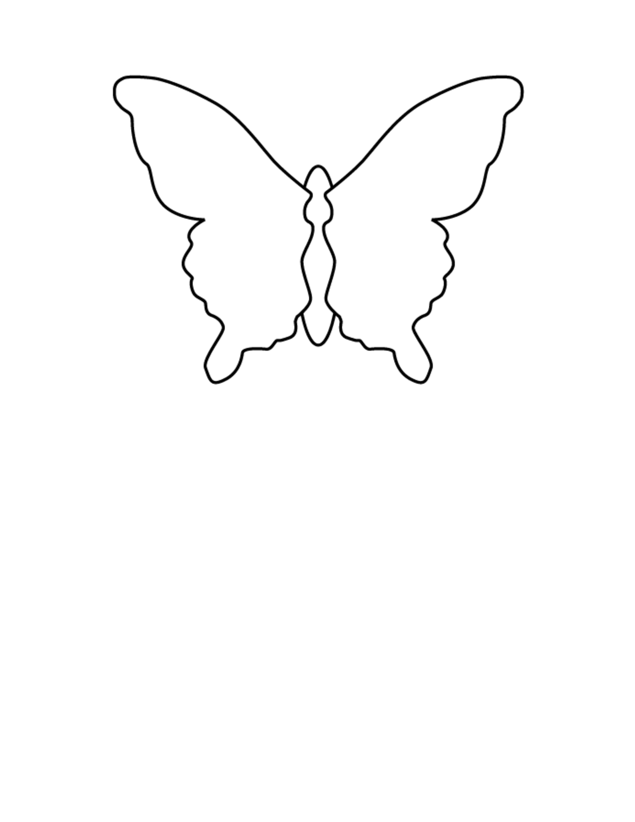 Free Printable Butterfly Wings