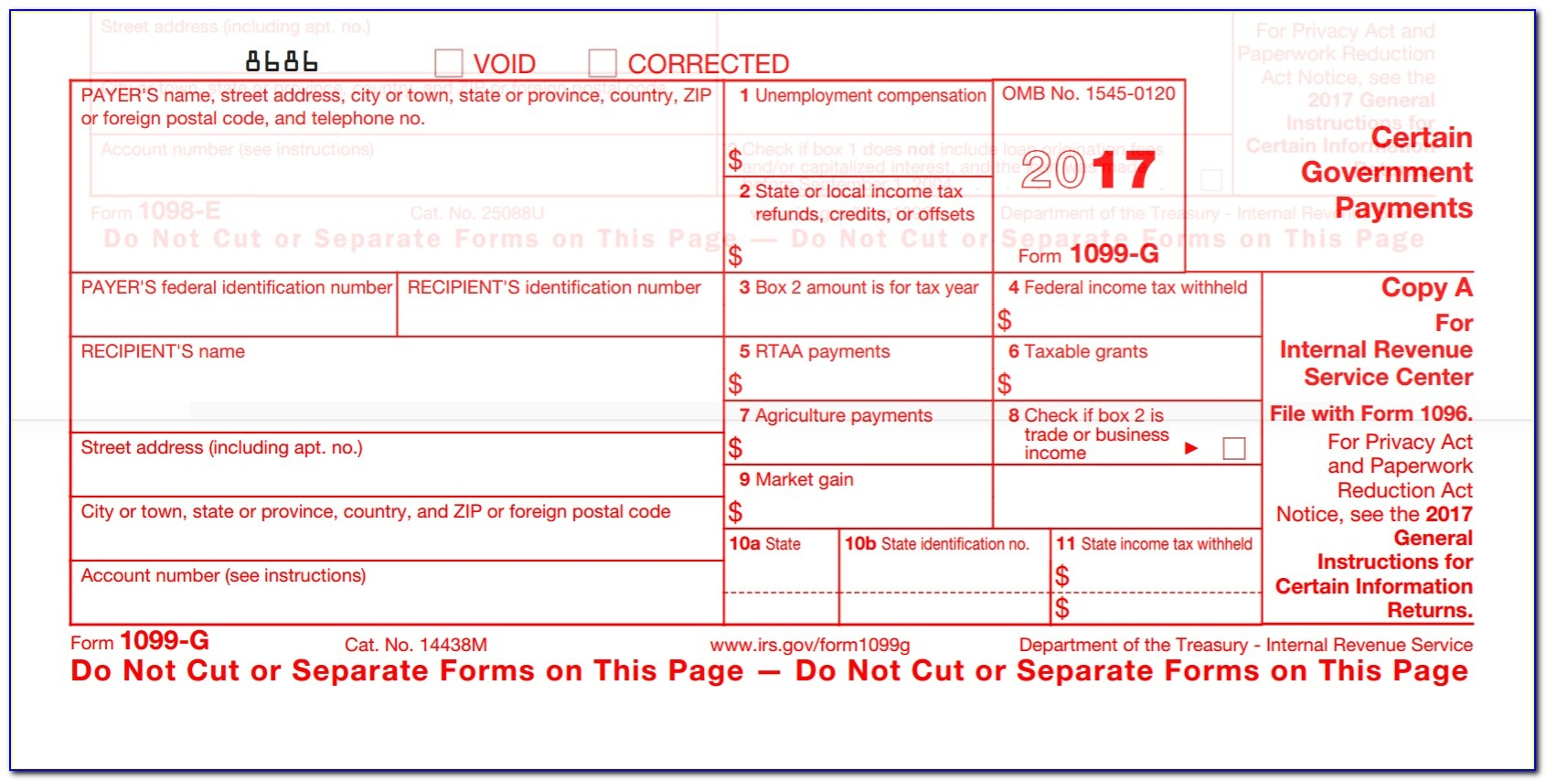 Free Printable Irs Forms