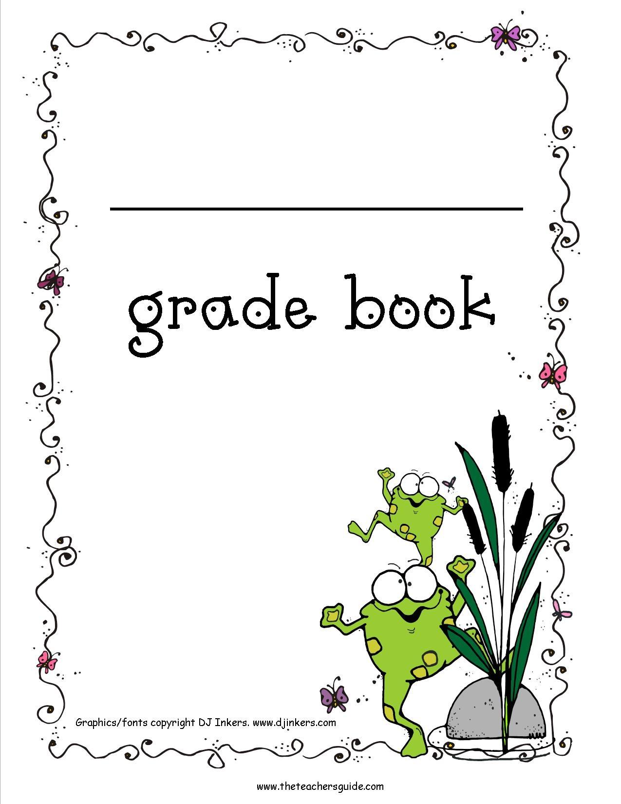 025 Teacher Grade Book Template Ideas Free Excel Gradebook