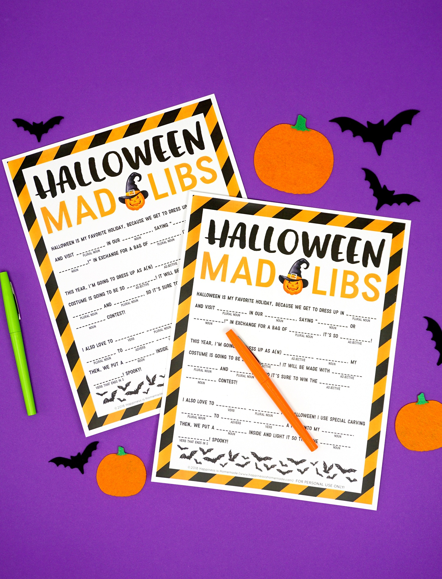 Free Printable Halloween Homework Pass