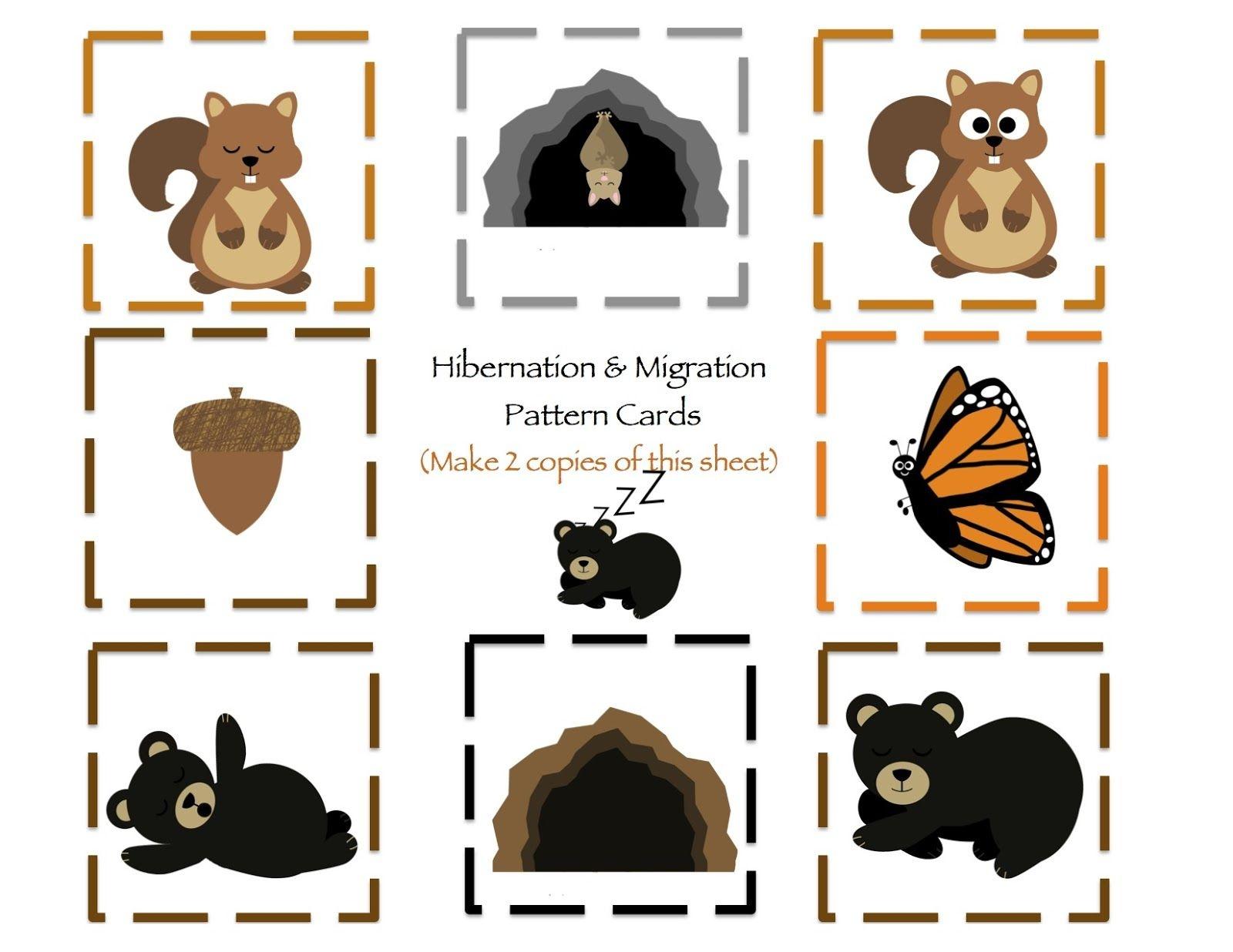 Hibernation Amp Migration Printable
