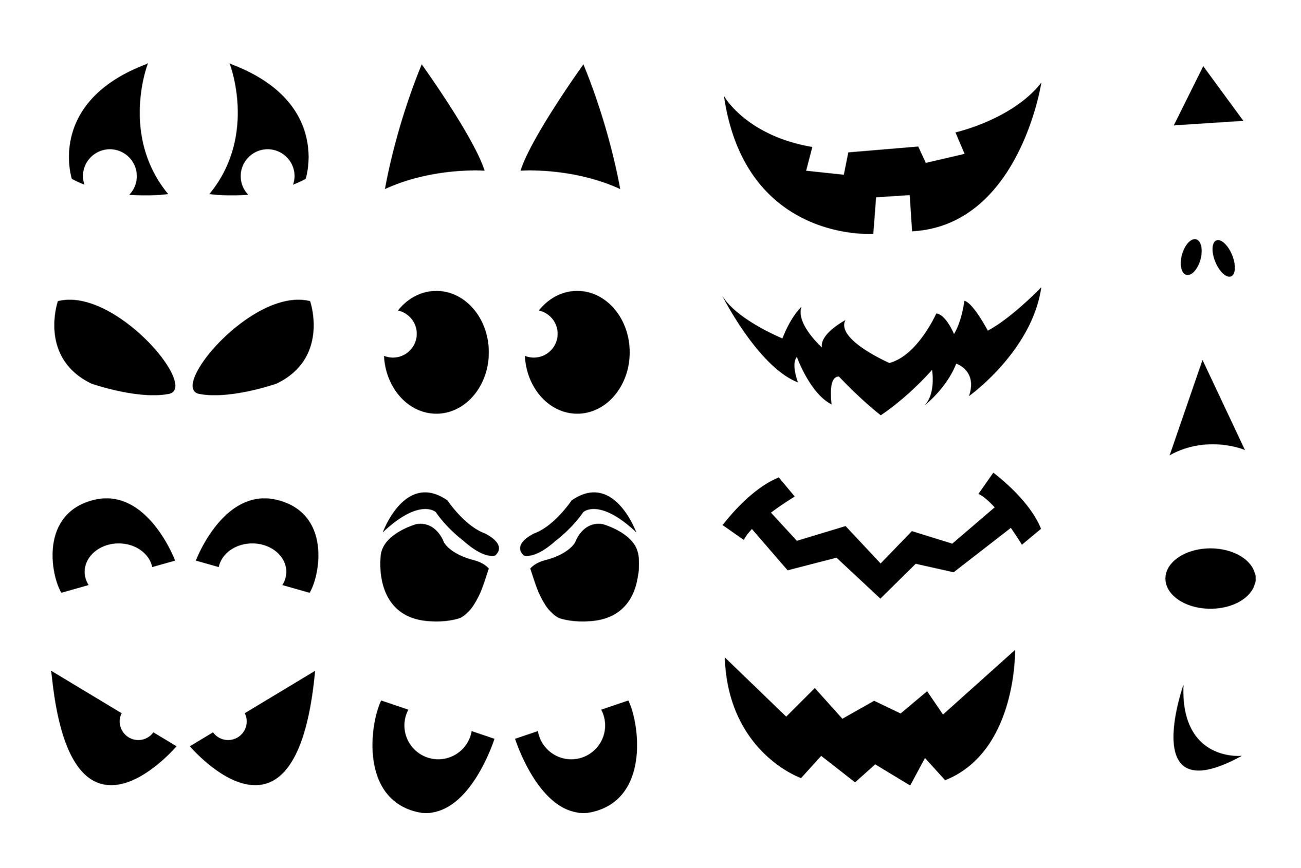 Jack O Lantern Patterns Free Printable