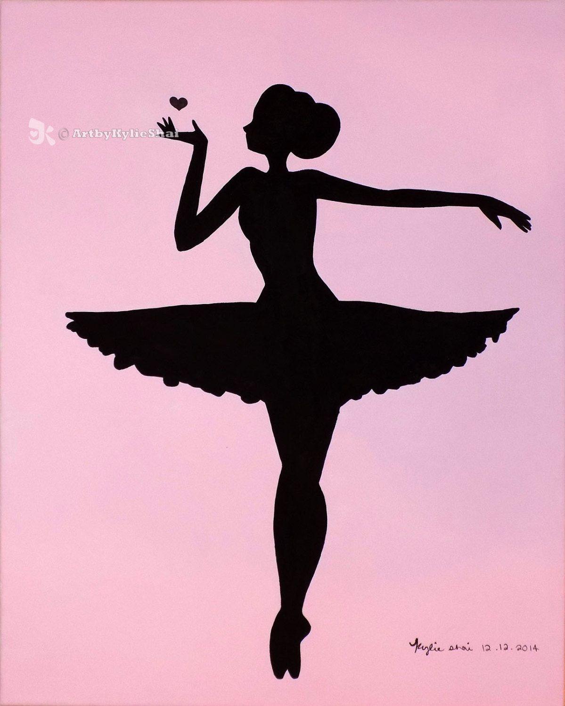 Free Printable Ballerina Silhouette