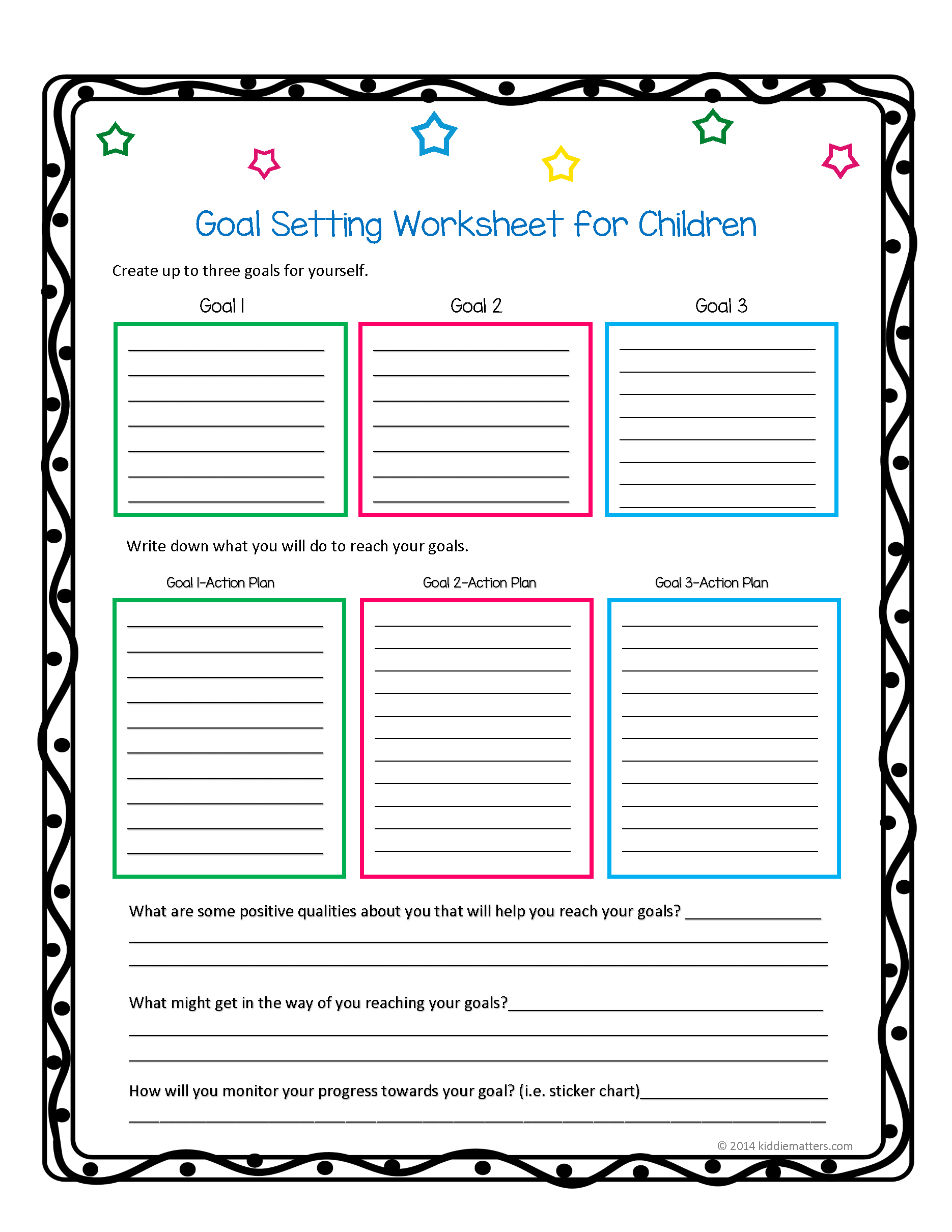 Free Printable Life Skills Worksheets For Adults