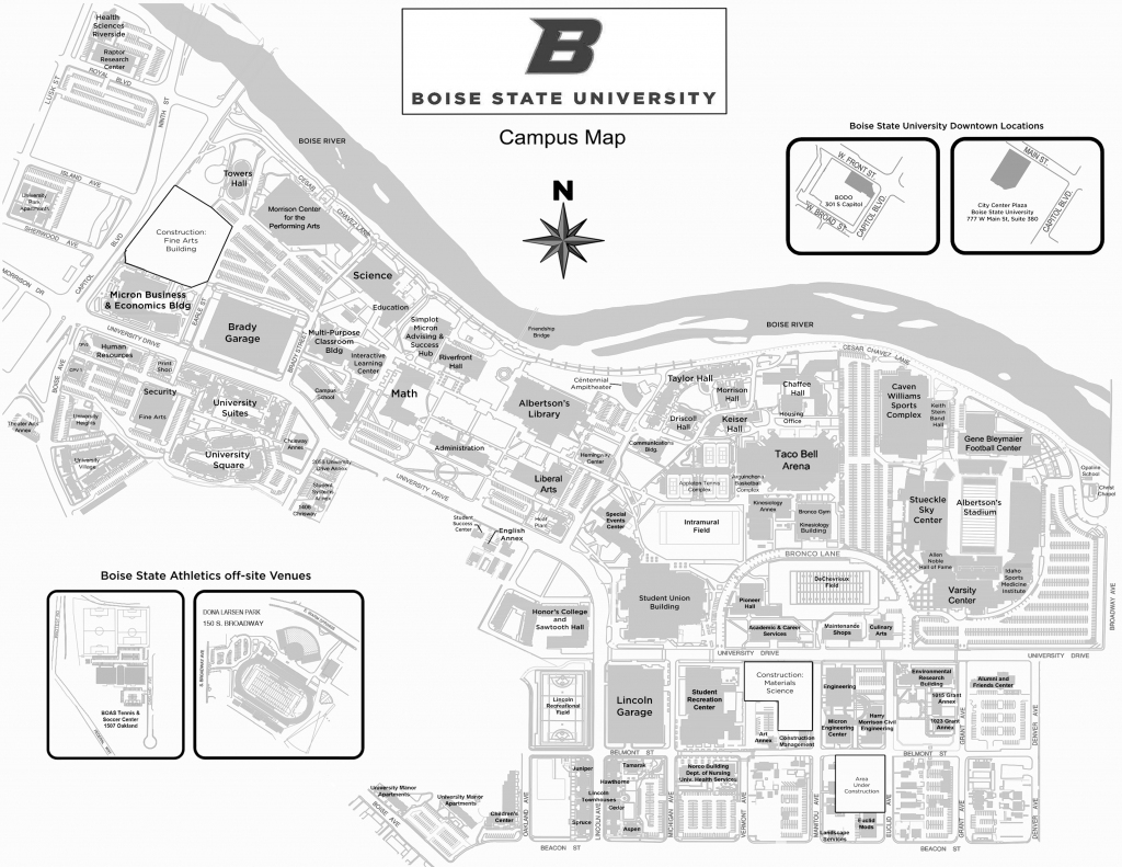 Boise State Campus Map 89 Images In Collection Page 2