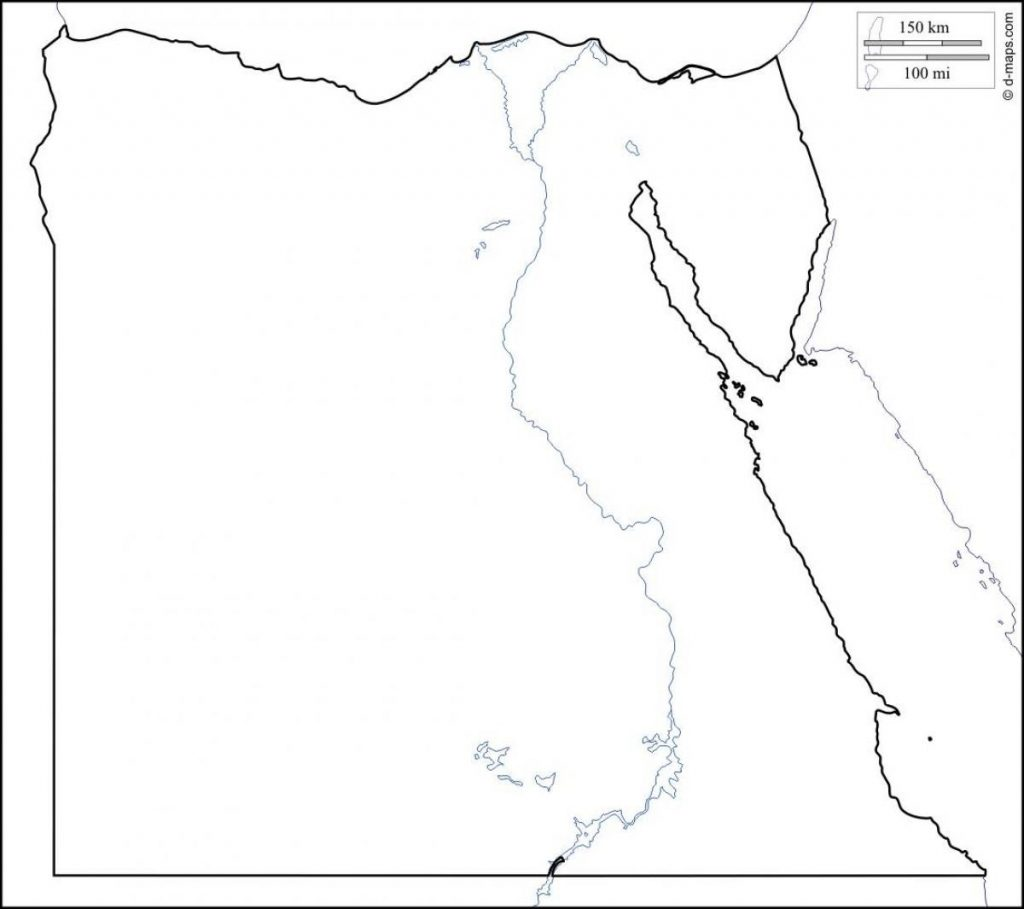 Map Of Ancient Egypt Valid Map Of Egypt Map Black And