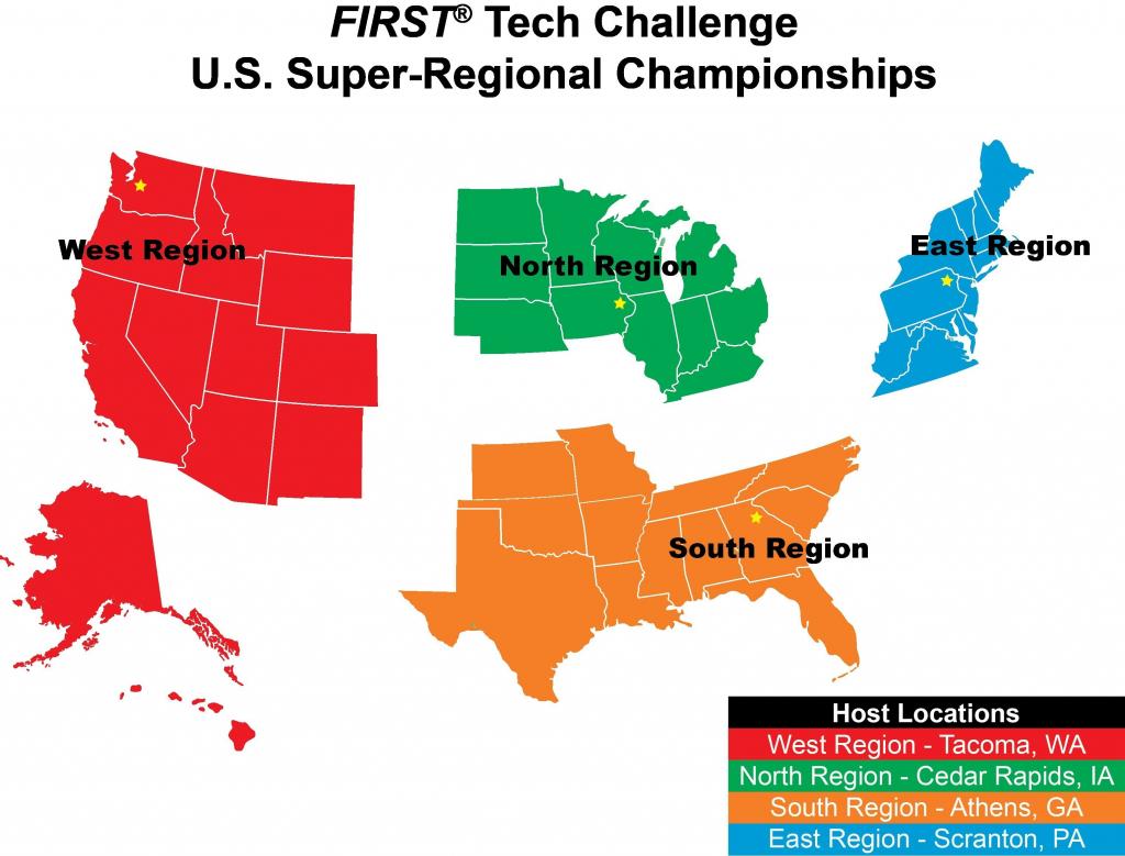 Us Map Separated Into Regions Regionalmap Luxury Best Us