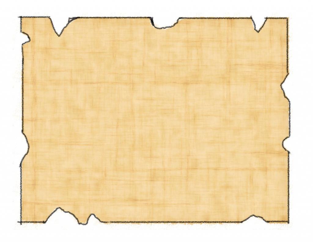 Printable Treasure Map Kids Activity Inside Printable