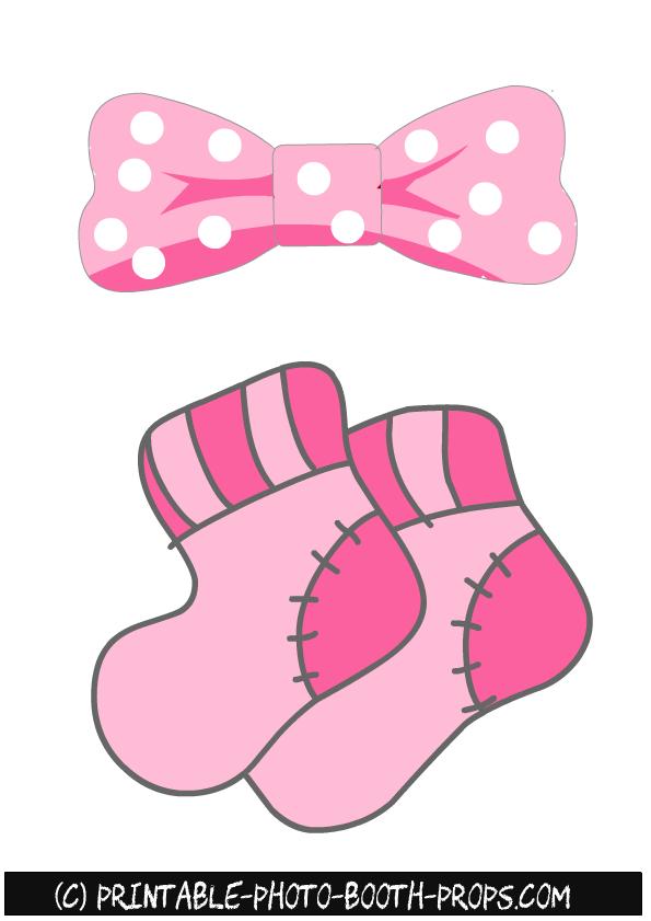 free printable girl baby