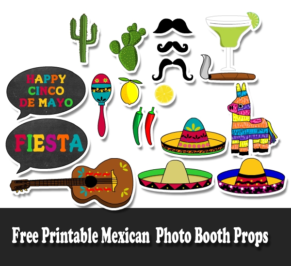 700 Free Printable Photo Booth Props