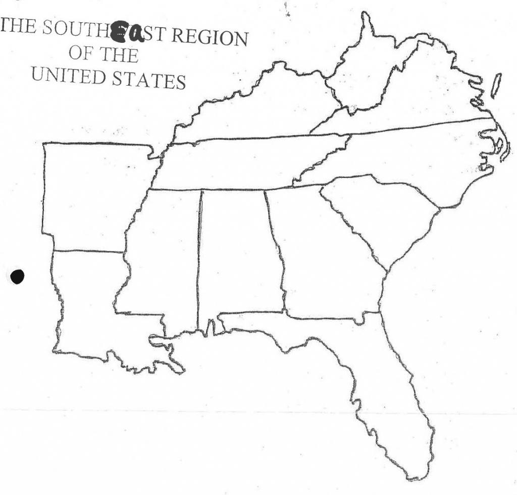 Northeast United States Map Printable