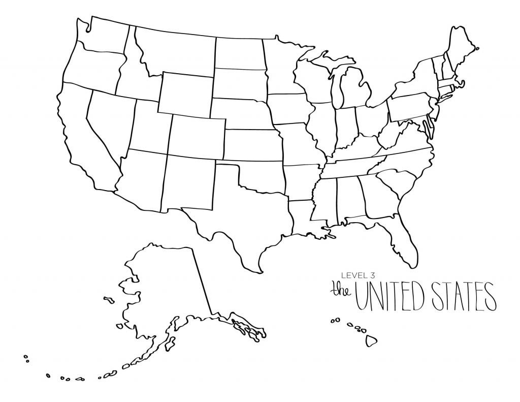 United States Maps Blank