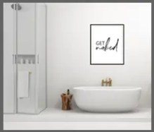 bathroom prints