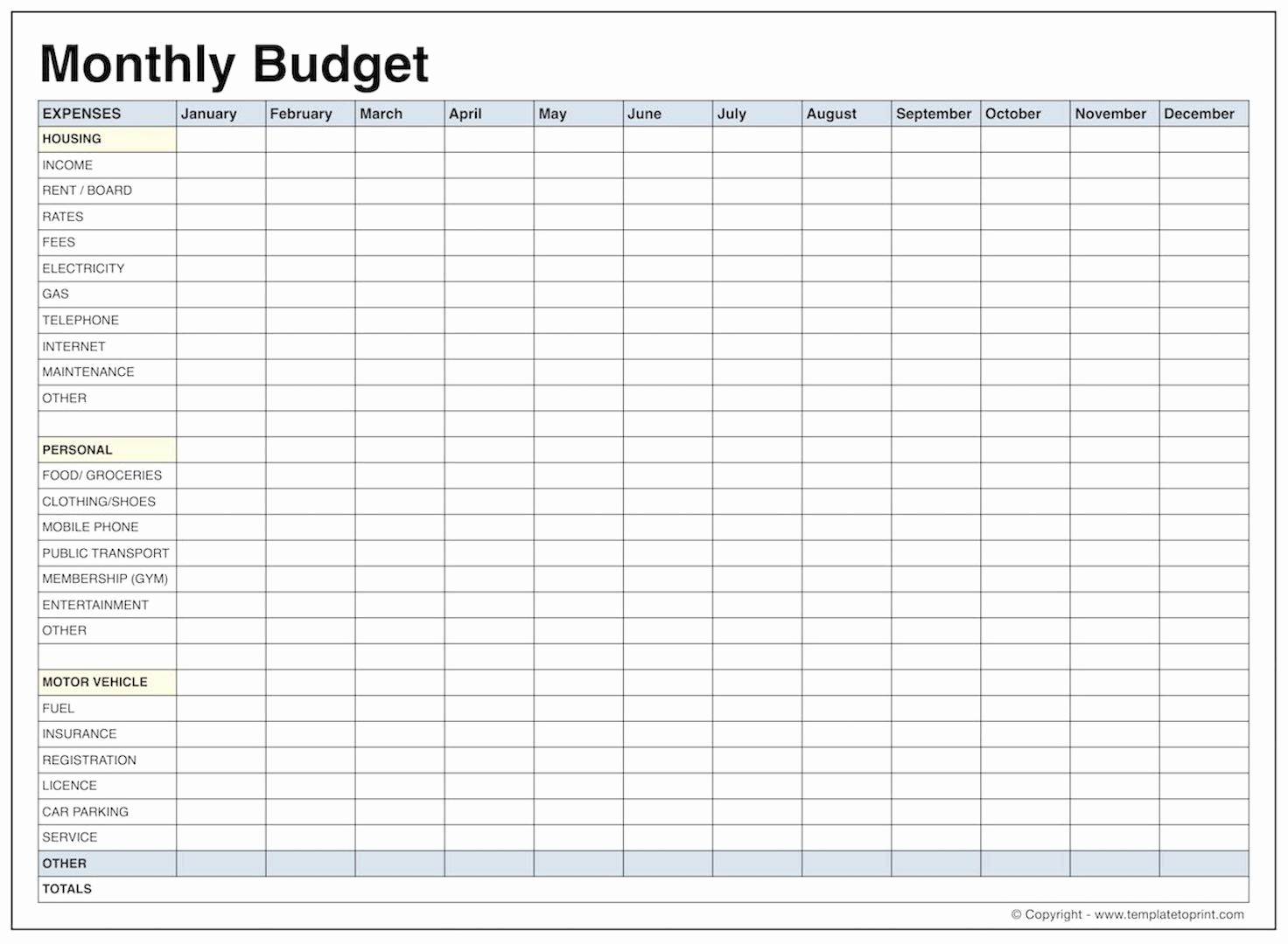 Family Budget Template Free Home Renovation Excel Best