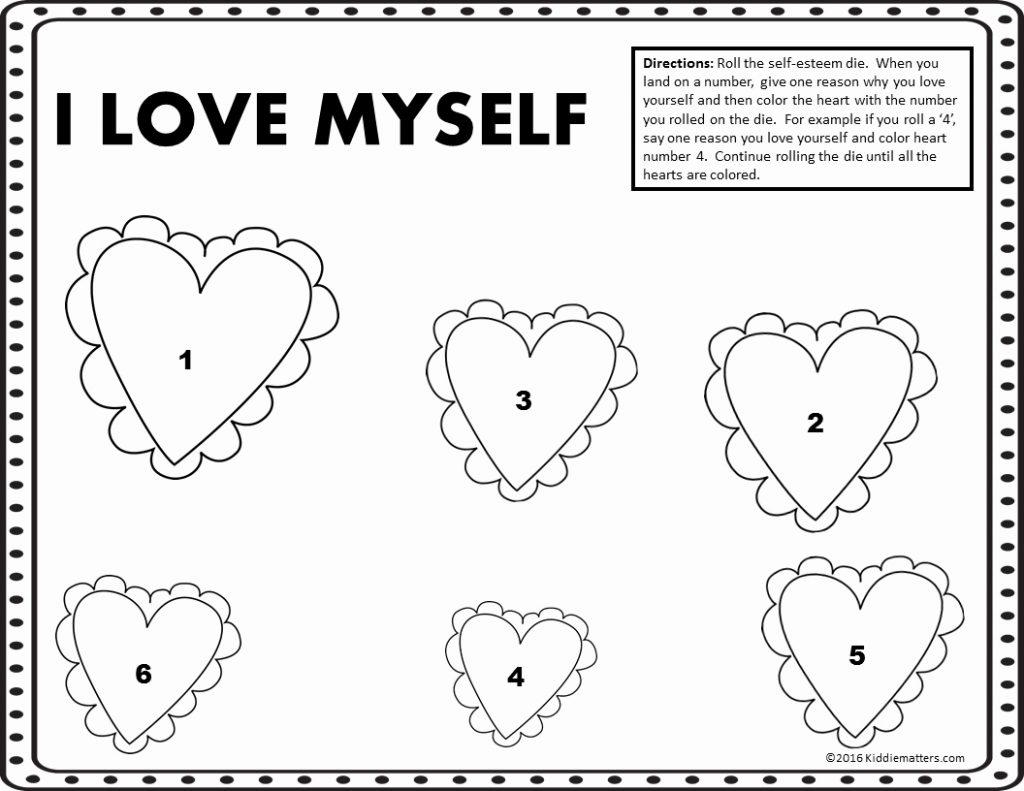20 Worksheets On Self Esteem For Adults