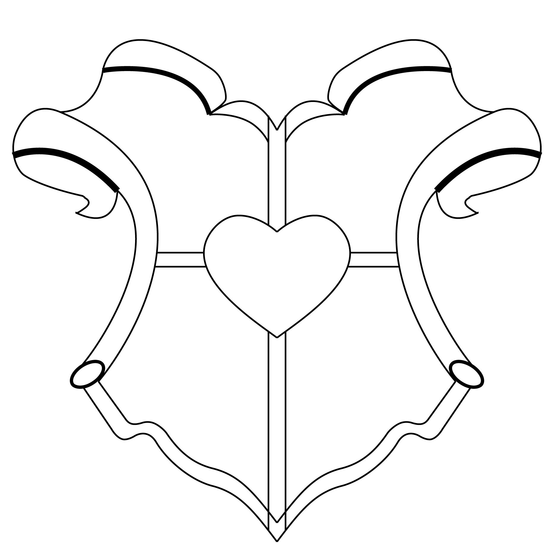 Blank Family Crest Template