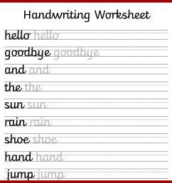 Cursive Writing Practice Printable Worksheets   Printable Worksheets and  Activities for Teachers [ 1654 x 1654 Pixel ]