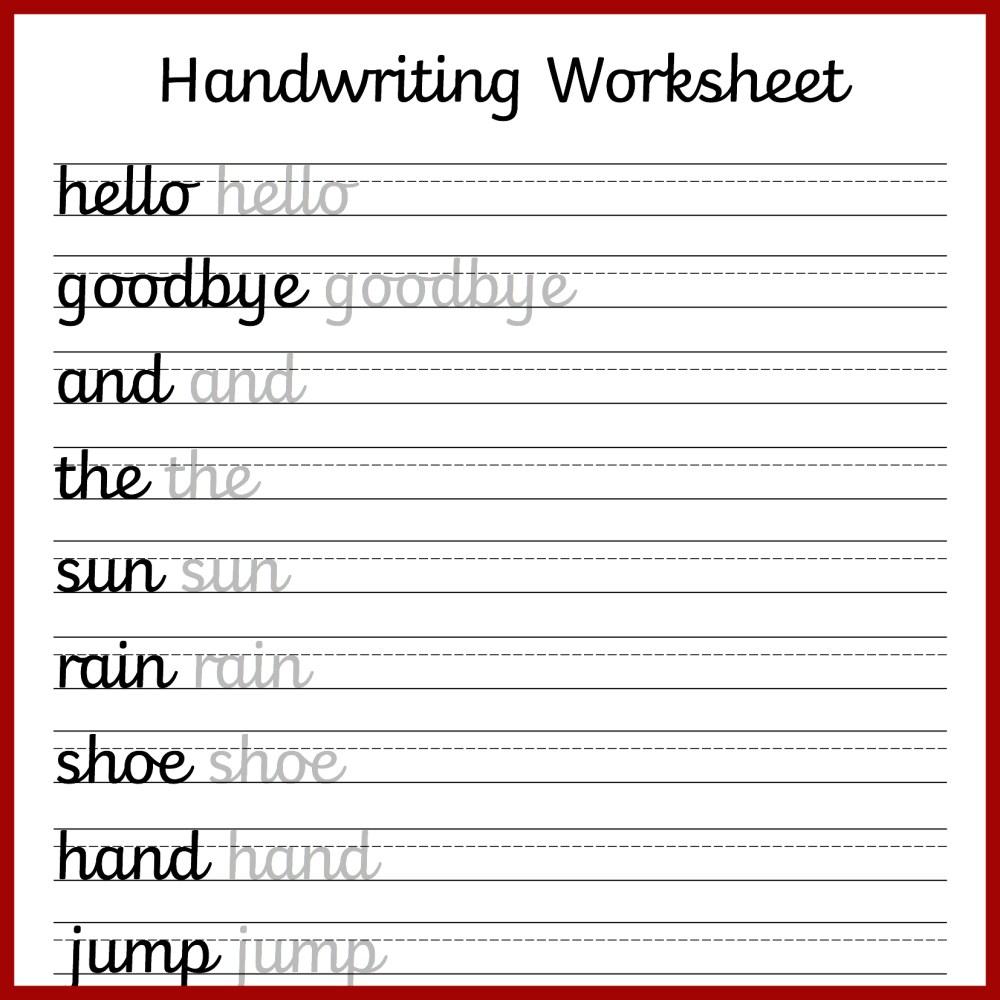 medium resolution of Cursive Writing Practice Printable Worksheets   Printable Worksheets and  Activities for Teachers