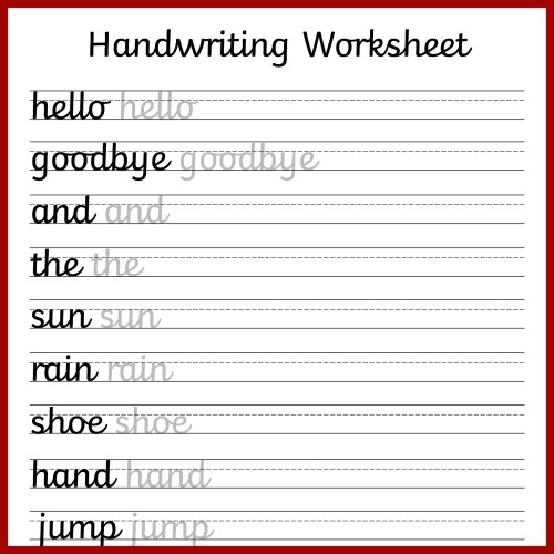 small resolution of Cursive Writing Practice Printable Worksheets   Printable Worksheets and  Activities for Teachers