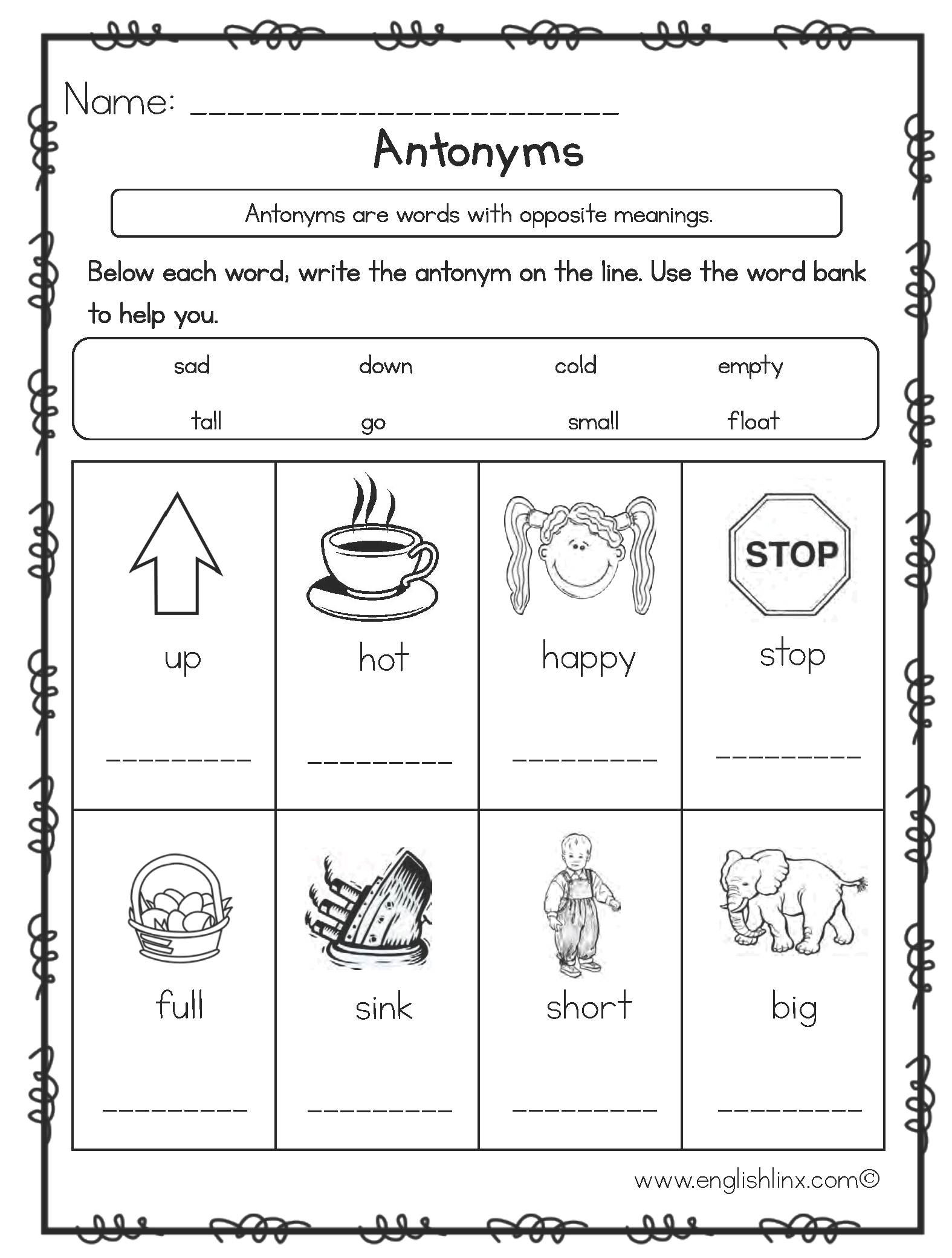 hight resolution of Synonym Worksheet Printable   Printable Worksheets and Activities for  Teachers