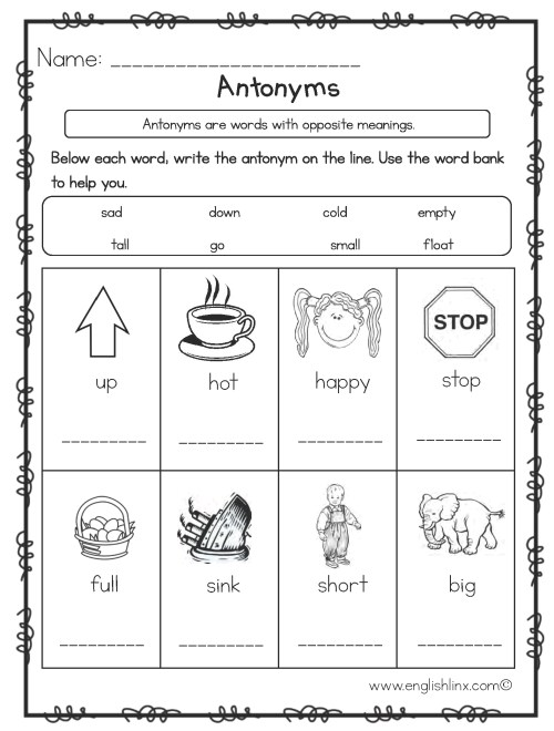 small resolution of Synonym Worksheet Printable   Printable Worksheets and Activities for  Teachers