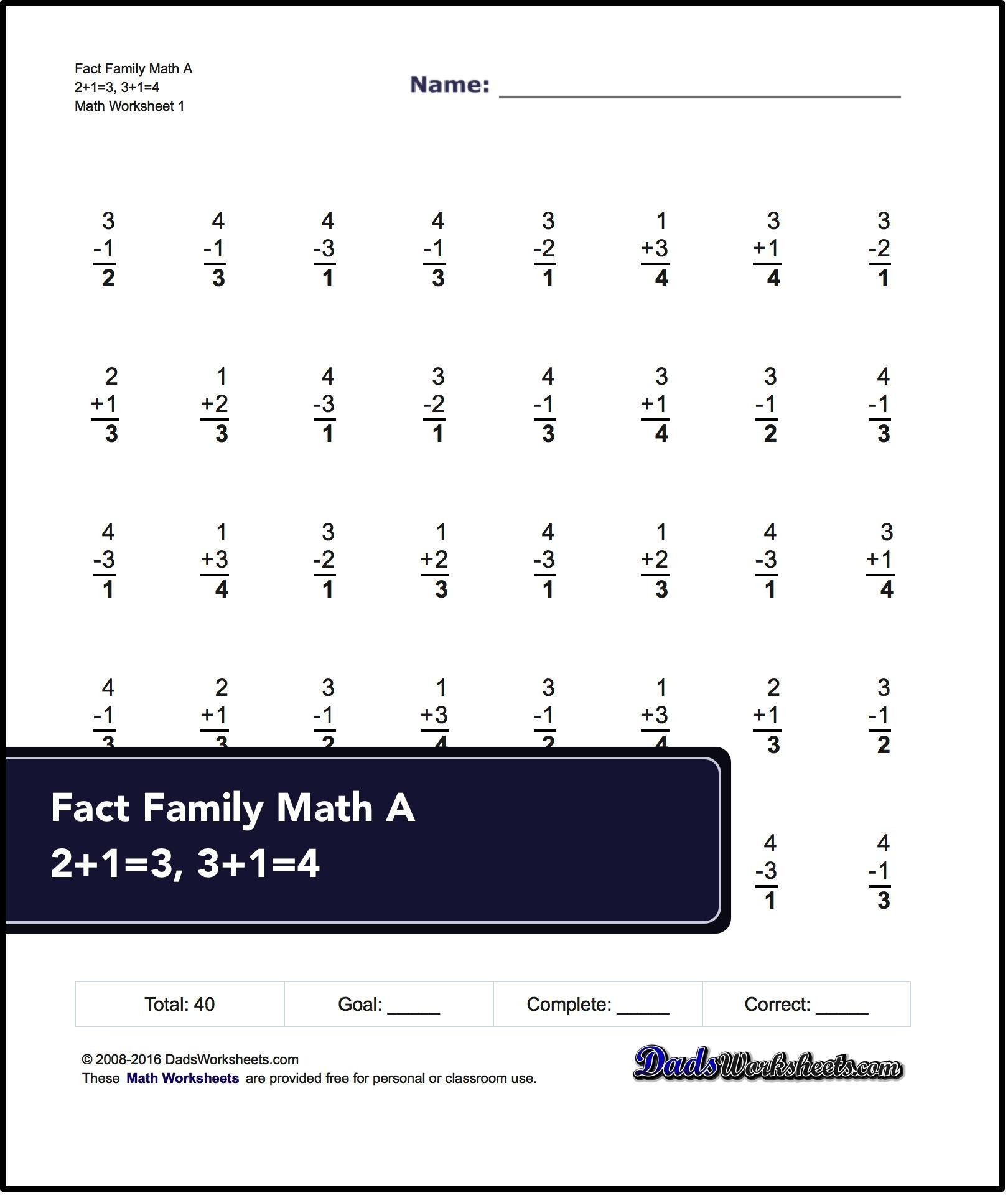 Touch Math Multiplication Worksheets