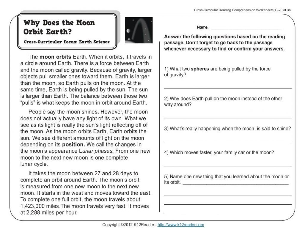 - Free Reading Comprehension Worksheet Ks1 Printable Worksheets