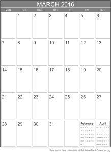 march-2016-blank-calendar-template