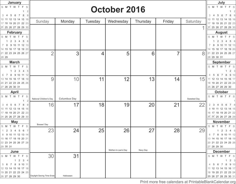 October-2016-calander
