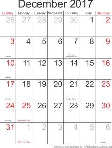 downloadable calendar template