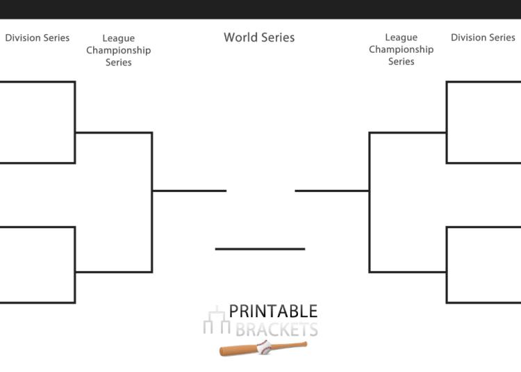 2020 World Series Bracket | Printable World Series Bracket ...