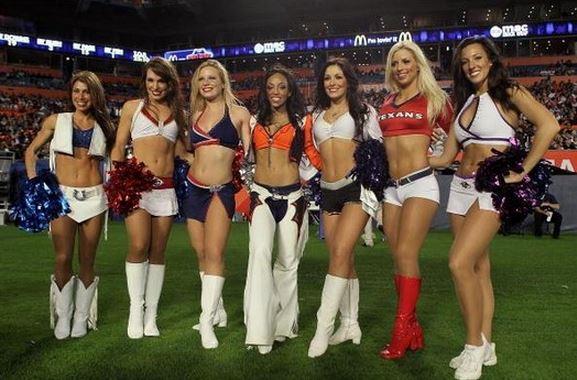 NFL Cheerleaders  NFL Teams Without Cheerleaders