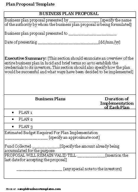 Business Plans Sample Sample Financial Advisor Business Plan Sample