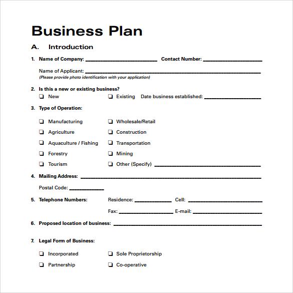 business plan template proposal sample printable calendar templates