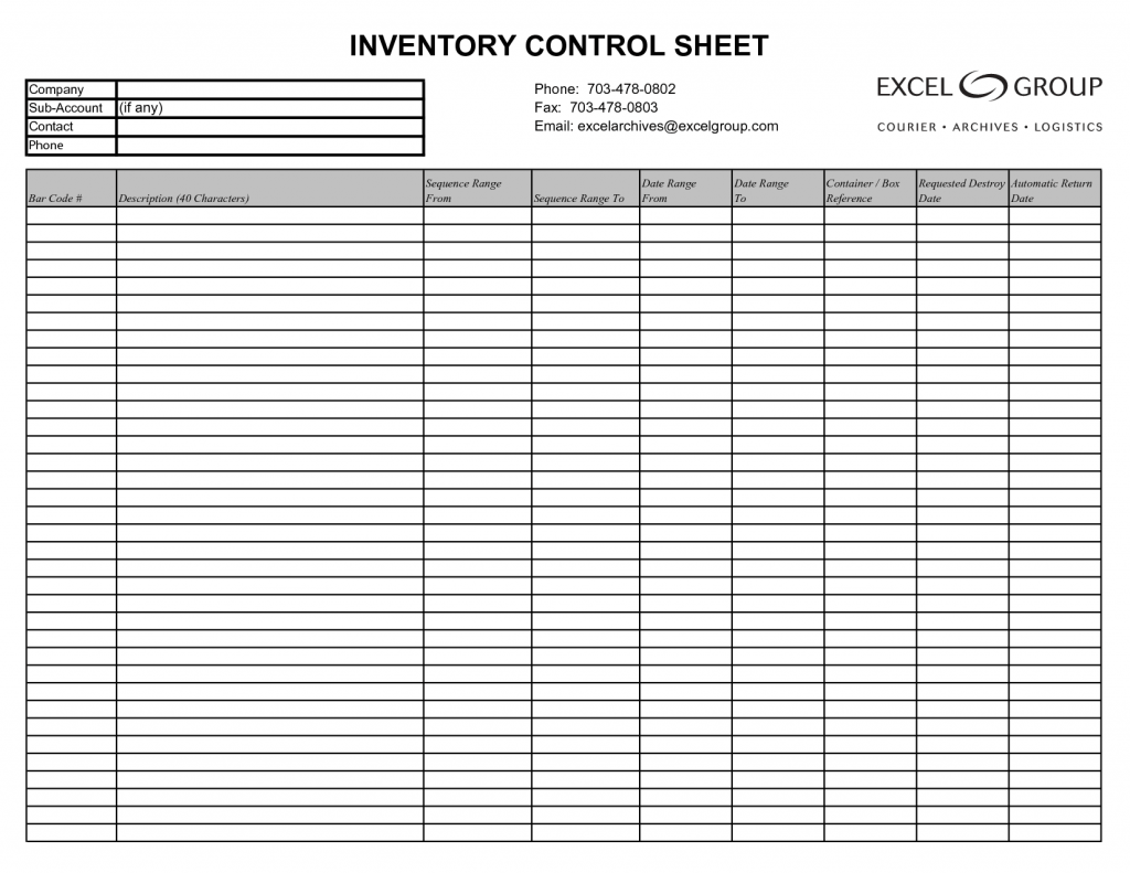 15 Free Inventory Templates Amp Samples In Excel