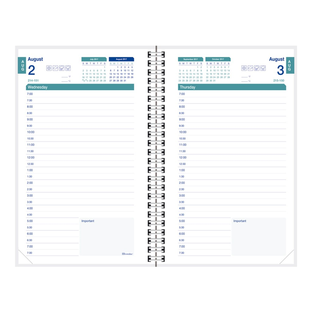 10+ FREE Printable Daily Planner Templates