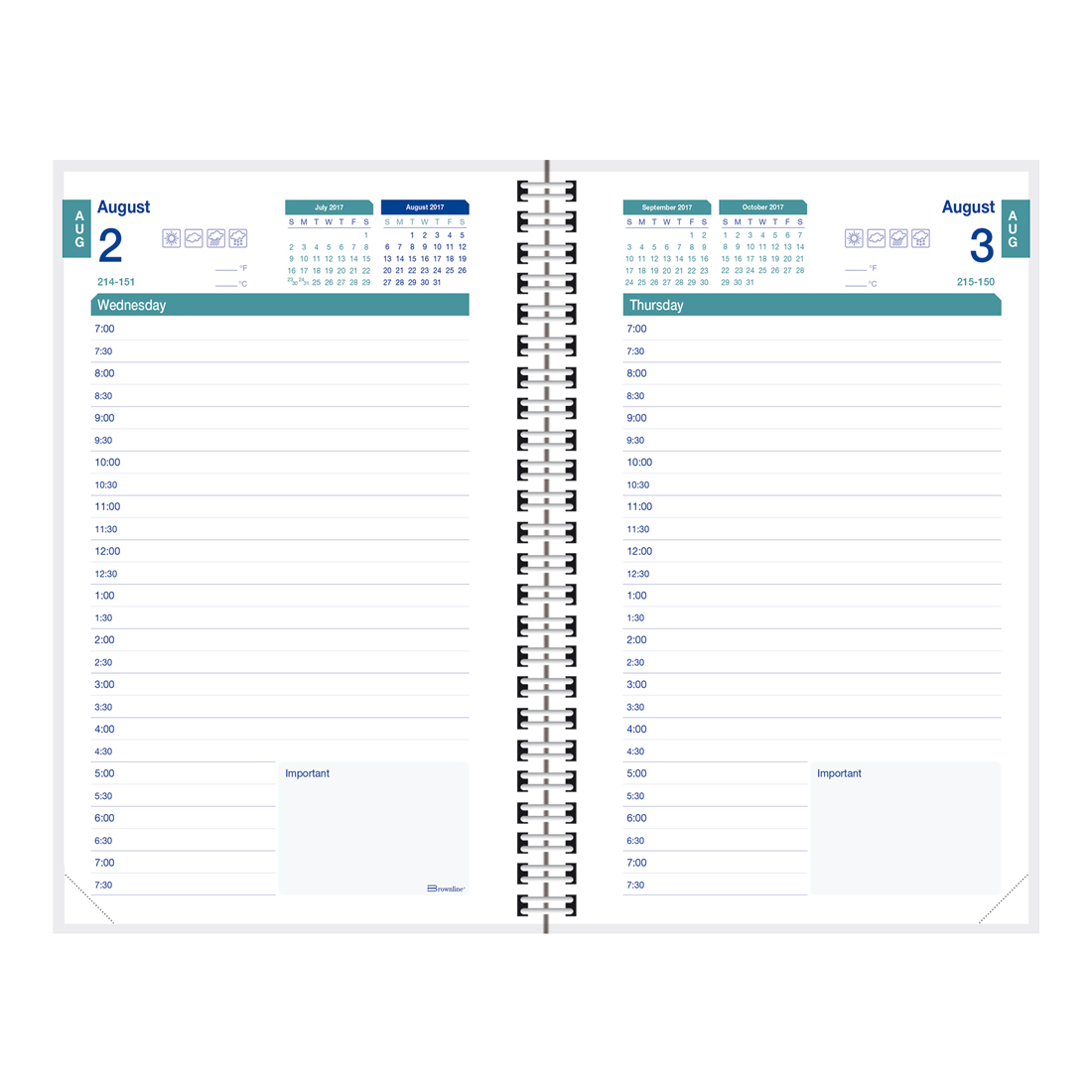 10 Free Printable Daily Planner Templates