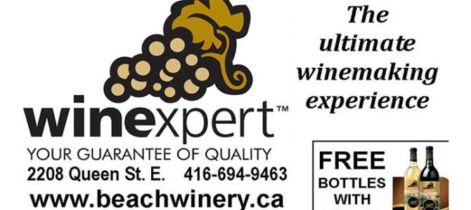 Winexpert Toronto Free Bottles