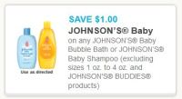Printable Coupons and Deals  Johnsons baby shampoo Jan