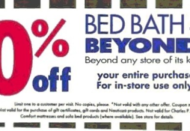 Ac Moore Coupon August Bed Bath And Beyond Coupons