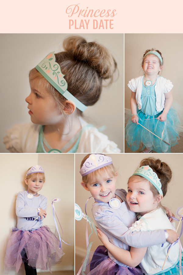 Princess Party Costumes on www.strawberrymommycakes.com #princessparty #princesscostume